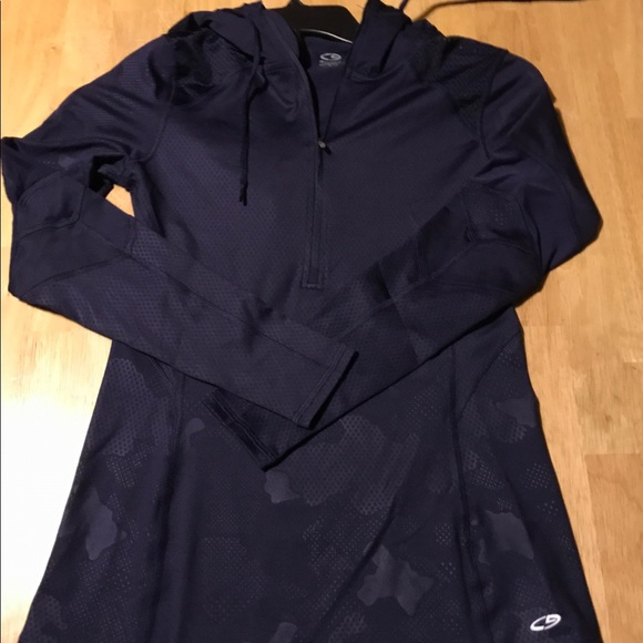 aa171c10b9e2 Champion Duo Dry with Hood in Navy Size Small